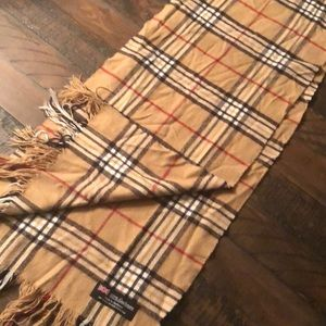 100% Cashmere scarf Plaid Made in Scotland